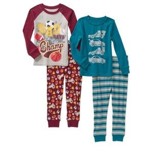 Other - NWT Toddler 4 Piece Pajama Set Size 3T